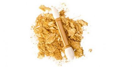 Goldenes Make-Up