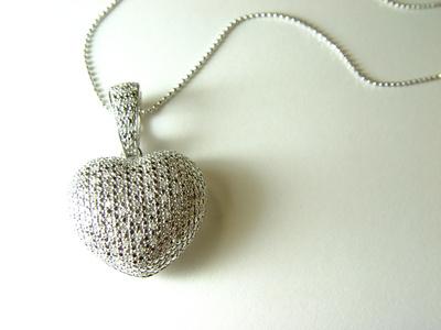 Kettenanhänger in Herzform